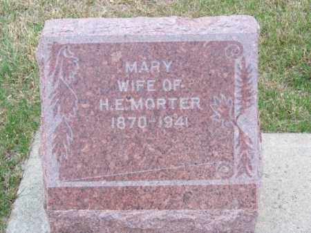 MORTER, MARY - Brown County, Nebraska | MARY MORTER - Nebraska Gravestone Photos