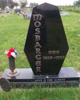 MOSBARGER, DEE - Brown County, Nebraska | DEE MOSBARGER - Nebraska Gravestone Photos