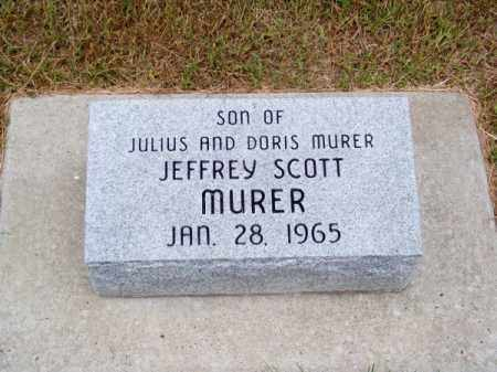 MURER, JEFFREY SCOTT - Brown County, Nebraska | JEFFREY SCOTT MURER - Nebraska Gravestone Photos