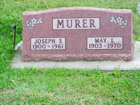 MURER, MAY L. - Brown County, Nebraska | MAY L. MURER - Nebraska Gravestone Photos