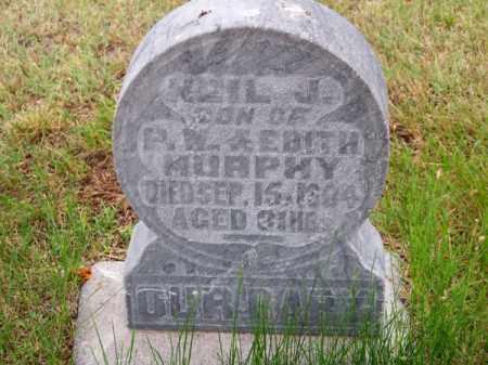MURPHY, NEIL J. - Brown County, Nebraska   NEIL J. MURPHY - Nebraska Gravestone Photos