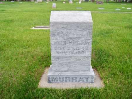 MURRAY, JOHN - Brown County, Nebraska | JOHN MURRAY - Nebraska Gravestone Photos