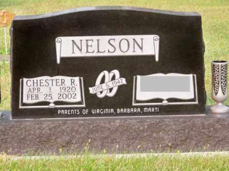 NELSON, CHESTER R. - Brown County, Nebraska | CHESTER R. NELSON - Nebraska Gravestone Photos