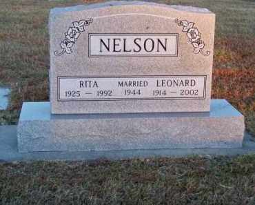 NELSON, RITA - Brown County, Nebraska | RITA NELSON - Nebraska Gravestone Photos