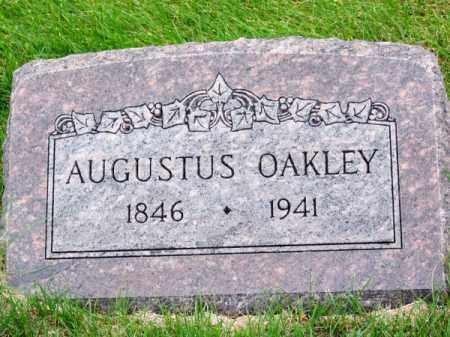 OAKLEY, AUGUSTUS - Brown County, Nebraska   AUGUSTUS OAKLEY - Nebraska Gravestone Photos