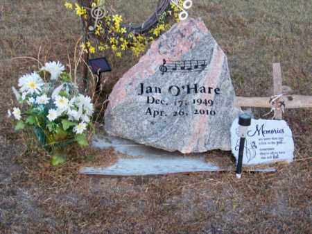 O'HARE, JAN - Brown County, Nebraska | JAN O'HARE - Nebraska Gravestone Photos