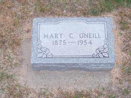 O'NEILL, MARY C. - Brown County, Nebraska | MARY C. O'NEILL - Nebraska Gravestone Photos