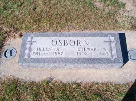OSBORN, STEWART W. - Brown County, Nebraska | STEWART W. OSBORN - Nebraska Gravestone Photos