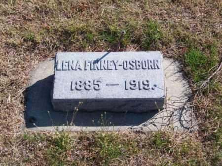 FINNEY OSBORN, LENA - Brown County, Nebraska | LENA FINNEY OSBORN - Nebraska Gravestone Photos