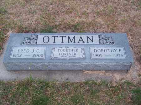OTTMAN, DOROTHY F. - Brown County, Nebraska | DOROTHY F. OTTMAN - Nebraska Gravestone Photos