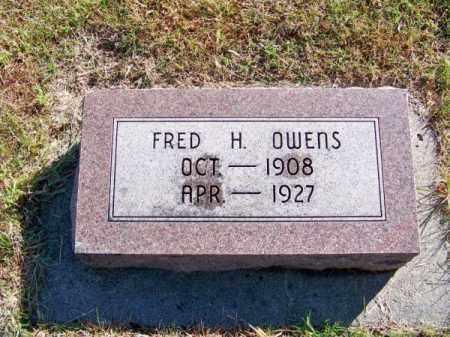 OWENS, FRED H. - Brown County, Nebraska | FRED H. OWENS - Nebraska Gravestone Photos