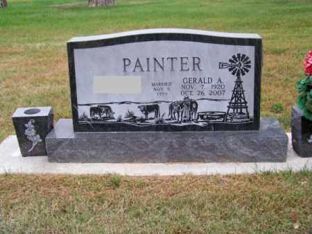 PAINTER, GERALD A. - Brown County, Nebraska | GERALD A. PAINTER - Nebraska Gravestone Photos
