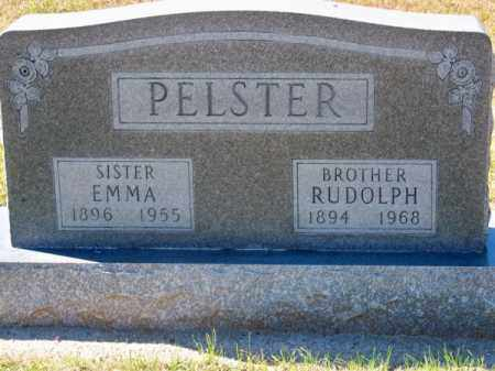 PELSTER, RUDOLPH - Brown County, Nebraska   RUDOLPH PELSTER - Nebraska Gravestone Photos