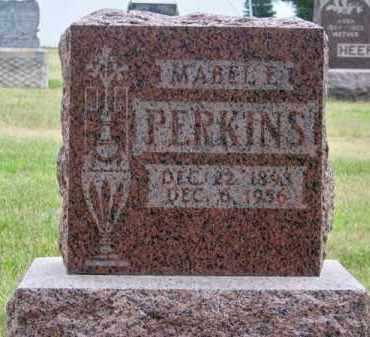 PERKINS, MABEL E. - Brown County, Nebraska   MABEL E. PERKINS - Nebraska Gravestone Photos