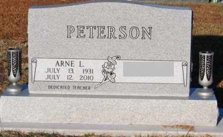 PETERSON, ARNE L. - Brown County, Nebraska | ARNE L. PETERSON - Nebraska Gravestone Photos