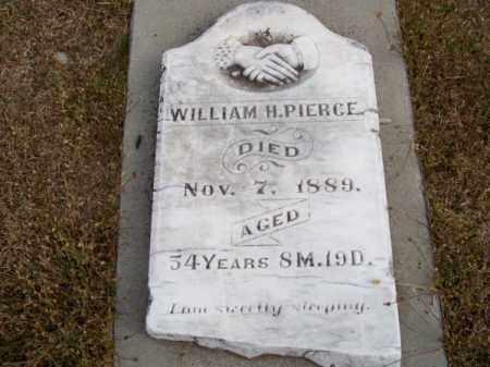PIERCE, WILLIAM H. - Brown County, Nebraska | WILLIAM H. PIERCE - Nebraska Gravestone Photos