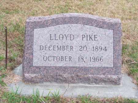 PIKE, LLOYD - Brown County, Nebraska | LLOYD PIKE - Nebraska Gravestone Photos