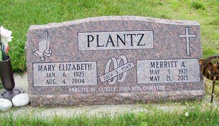 PLANTZ, MERRITT A. - Brown County, Nebraska | MERRITT A. PLANTZ - Nebraska Gravestone Photos