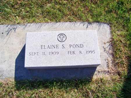 POND, ELAINE S. - Brown County, Nebraska | ELAINE S. POND - Nebraska Gravestone Photos