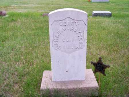 POTTER, CHAS. W. - Brown County, Nebraska | CHAS. W. POTTER - Nebraska Gravestone Photos