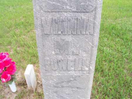 POWELL, VIANNA M. - Brown County, Nebraska | VIANNA M. POWELL - Nebraska Gravestone Photos
