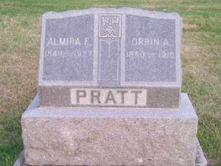 PRATT, ORRIN A. - Brown County, Nebraska | ORRIN A. PRATT - Nebraska Gravestone Photos
