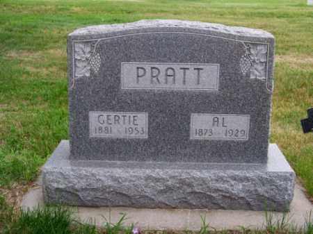 PRATT, AL - Brown County, Nebraska   AL PRATT - Nebraska Gravestone Photos
