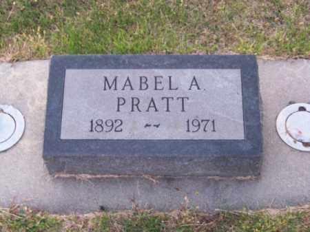 PRATT, MABEL A. - Brown County, Nebraska | MABEL A. PRATT - Nebraska Gravestone Photos