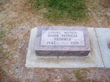 PRIMMER, DIANE PATRICIA - Brown County, Nebraska   DIANE PATRICIA PRIMMER - Nebraska Gravestone Photos