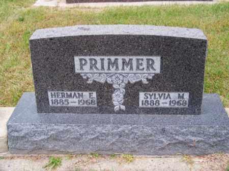 PRIMMER, SYLVIA M. - Brown County, Nebraska | SYLVIA M. PRIMMER - Nebraska Gravestone Photos
