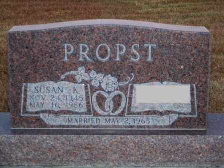 PROPST, SUSAN K. - Brown County, Nebraska   SUSAN K. PROPST - Nebraska Gravestone Photos