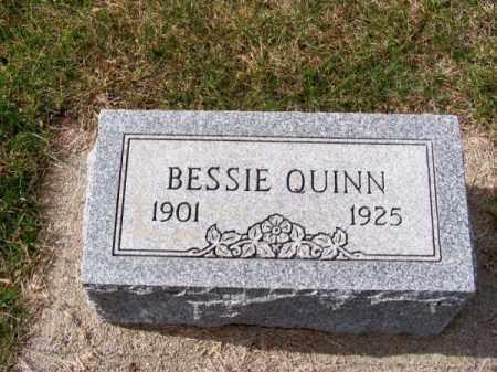 QUINN, BESSIE - Brown County, Nebraska   BESSIE QUINN - Nebraska Gravestone Photos