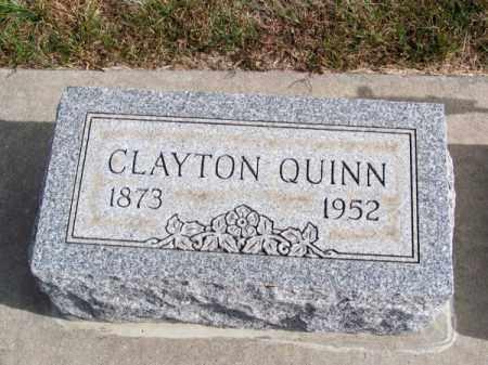 QUINN, CLAYTON - Brown County, Nebraska | CLAYTON QUINN - Nebraska Gravestone Photos