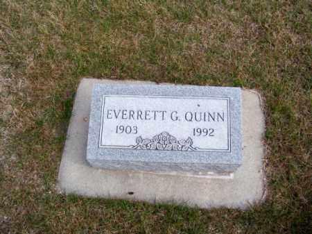 QUINN, EVERRETT G. - Brown County, Nebraska   EVERRETT G. QUINN - Nebraska Gravestone Photos