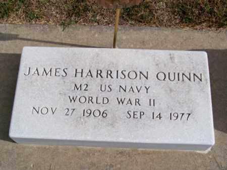 QUINN, JAMES HARRISON - Brown County, Nebraska | JAMES HARRISON QUINN - Nebraska Gravestone Photos