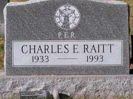RAITT, CHARLES E. - Brown County, Nebraska   CHARLES E. RAITT - Nebraska Gravestone Photos