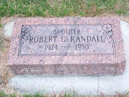 RANDALL, ROBERT G. - Brown County, Nebraska   ROBERT G. RANDALL - Nebraska Gravestone Photos