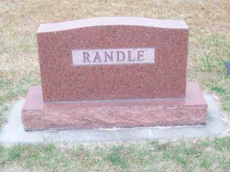 RANDLE, FAMILY - Brown County, Nebraska | FAMILY RANDLE - Nebraska Gravestone Photos