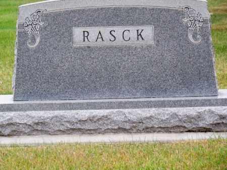 RASCK, FAMILY - Brown County, Nebraska   FAMILY RASCK - Nebraska Gravestone Photos