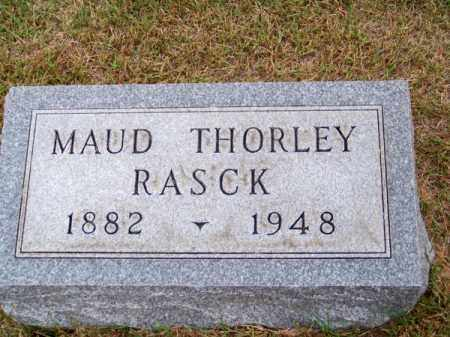 RASCK, MAUD - Brown County, Nebraska | MAUD RASCK - Nebraska Gravestone Photos