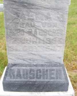RAUSCHER, ALMA - Brown County, Nebraska | ALMA RAUSCHER - Nebraska Gravestone Photos
