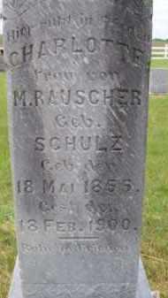 RAUSCHER, CHARLOTTE - Brown County, Nebraska   CHARLOTTE RAUSCHER - Nebraska Gravestone Photos