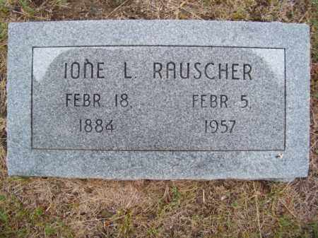 RAUSCHER, IONE L. - Brown County, Nebraska | IONE L. RAUSCHER - Nebraska Gravestone Photos