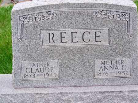 REECE, ANNA C. - Brown County, Nebraska | ANNA C. REECE - Nebraska Gravestone Photos