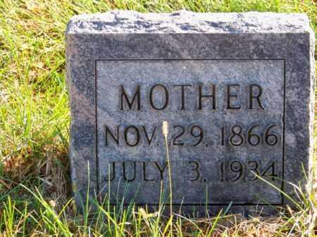 REED, FRANCELINA - Brown County, Nebraska | FRANCELINA REED - Nebraska Gravestone Photos