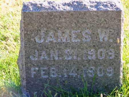 REED, JAMES W. - Brown County, Nebraska   JAMES W. REED - Nebraska Gravestone Photos