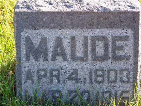 REED, MAUDE - Brown County, Nebraska | MAUDE REED - Nebraska Gravestone Photos