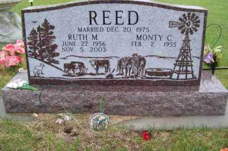 REED, RUTH M. - Brown County, Nebraska | RUTH M. REED - Nebraska Gravestone Photos