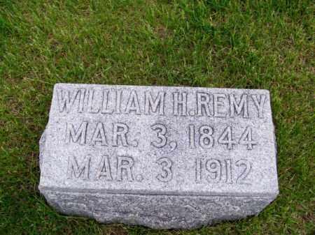 REMY, WILLIAM H. - Brown County, Nebraska   WILLIAM H. REMY - Nebraska Gravestone Photos