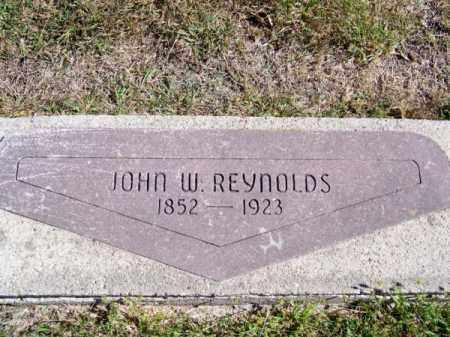 REYNOLDS, JOHN W. - Brown County, Nebraska | JOHN W. REYNOLDS - Nebraska Gravestone Photos
